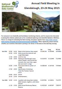 2015_AnnualFieldMeeting_Glendalough