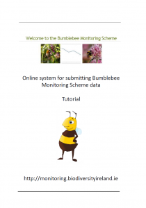 Bumblebee Monitoring Scheme Online Account Tutorial